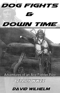 Amazon.com: Dog Fights and Down Time: Adventures of an Ace Fighter Pilot: Italy WWII eBook: Wilhelm, David: Kindle Store